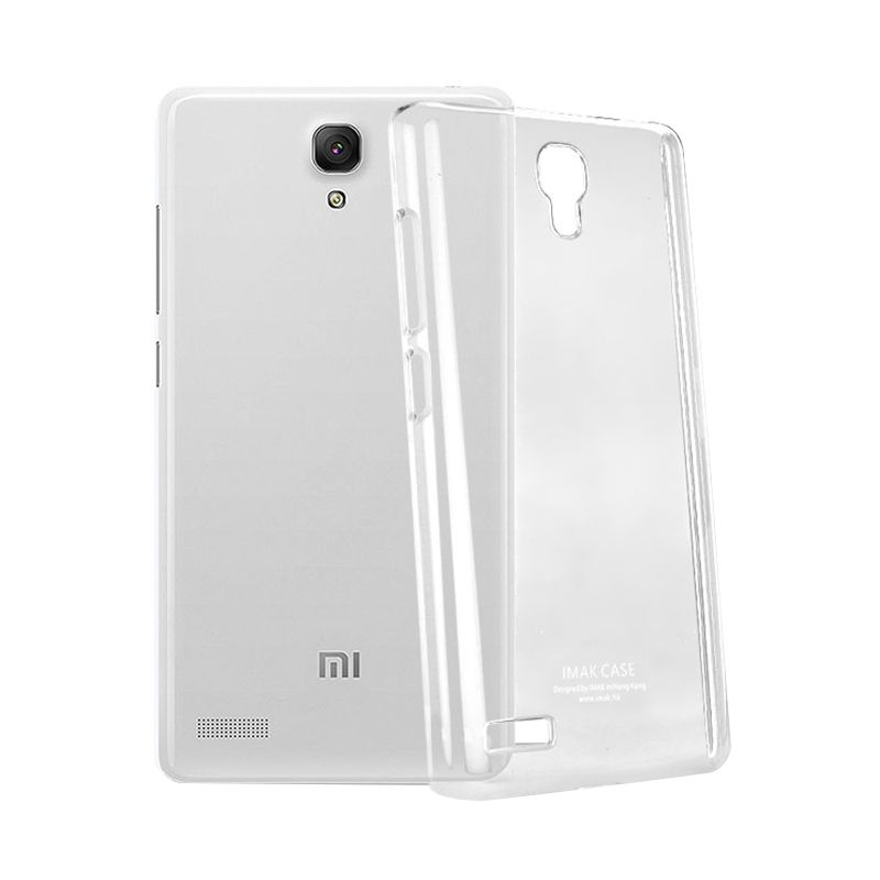 Imak Crystal II Slim Transparant Hardcase Casing for Xiaomi Redmi Note