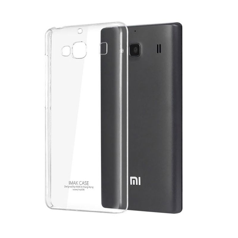 Imak Crystal II Slim Transparant Hardcase Casing for Xiaomi Redmi 2