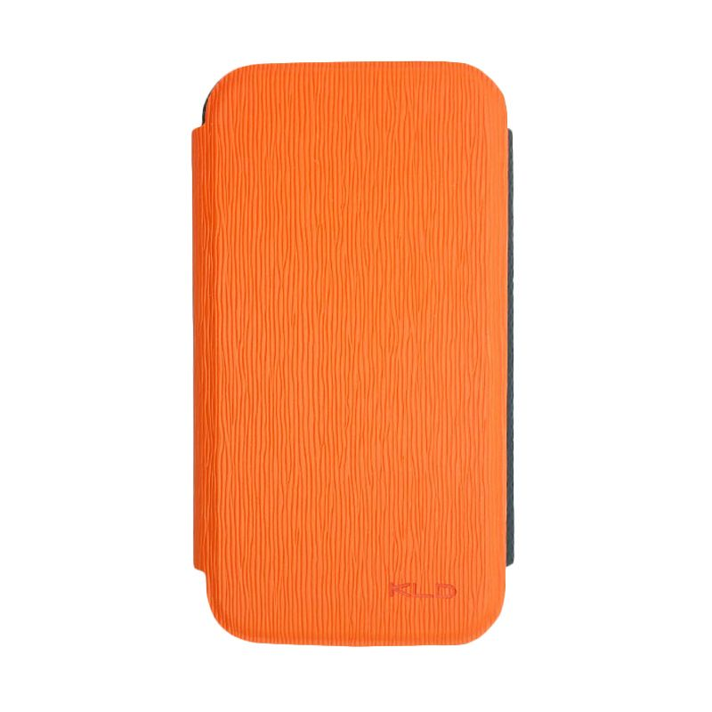 Kalaideng Charming II Series Leather Case Orange Casing for Samsung Galaxy S4 i9500
