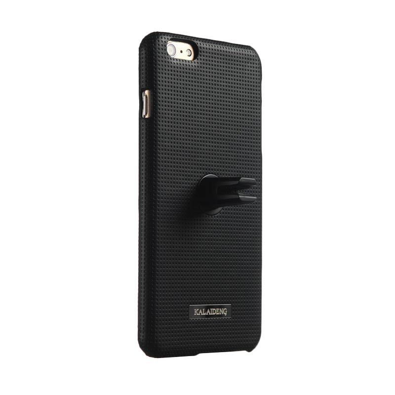 Kalaideng Drive Car Case Stand Back Cover All Black Casing for iPhone 6 Plus