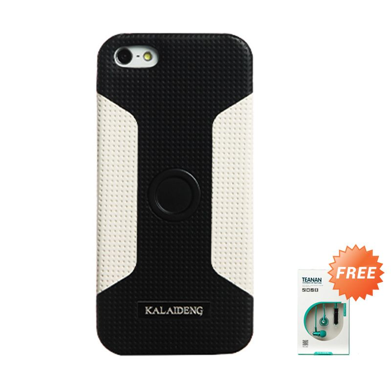 Kalaideng Drive Main Black Casing for iPhone 5 or 5s or SE + Earphone