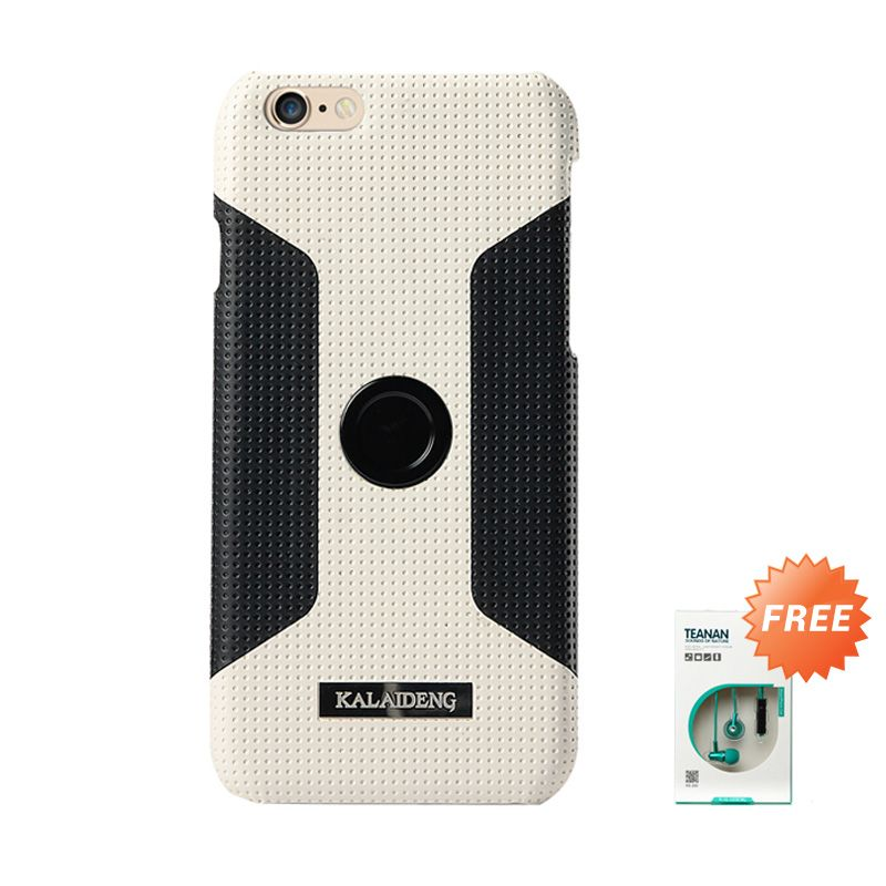 Kalaideng Drive Main White Casing for iPhone 6 + Earphone