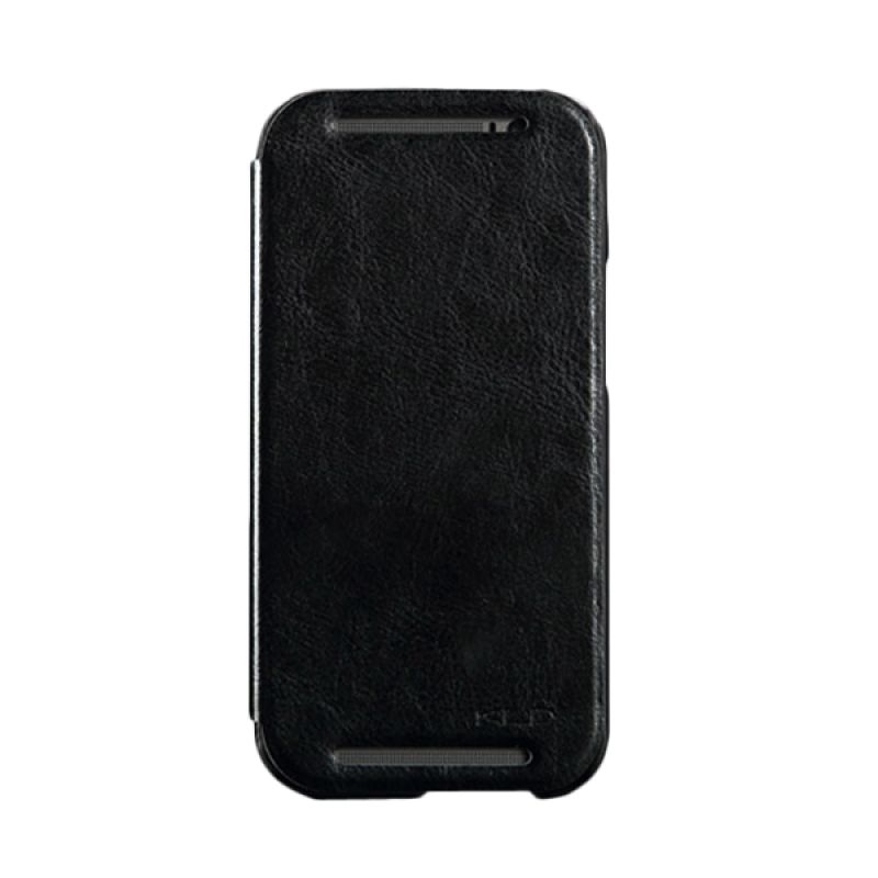 Kalaideng Enland Series Leather Hitam Casing for HTC One M8
