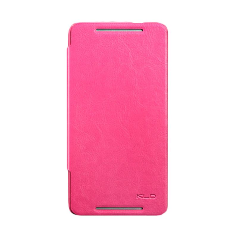 Kalaideng Enland Series Leather Pink Casing for HTC One Max 8088