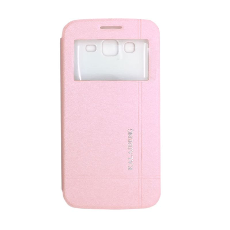 Kalaideng Iceland II Series Leather Pink Casing for Samsung Galaxy Grand 2