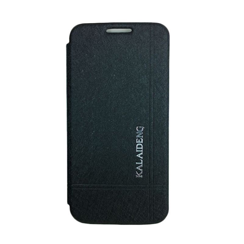 Kalaideng Iceland Series Leather Hitam Casing for Samsung Galaxy S4 Mini