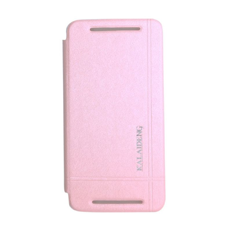 Kalaideng Iceland Series Leather Pink Casing for HTC One M7