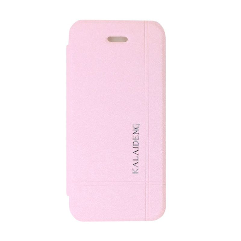 Kalaideng Iceland Series Leather Pink Casing for iPhone 5 or 5s or SE