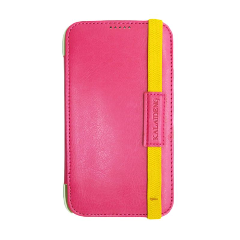 Kalaideng My Love Leather Flip Cover Pink Casing for Samsung Galaxy Note 2
