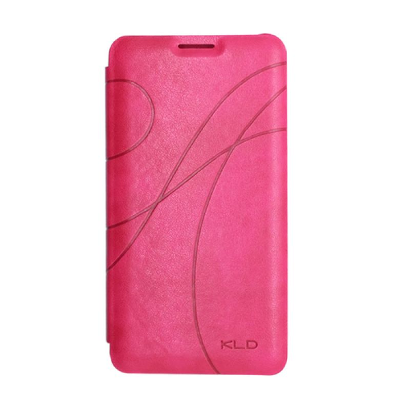 Kalaideng Oscar II Leather Flip Cover Rose Casing for Samsung Galaxy Note 2
