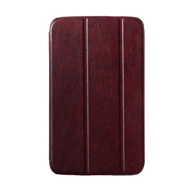 harga Kalaideng Oscar Tablet Series Leather Flip Case Merah Marun Casing for Samsung Galaxy Tab 3 10.1 inch Blibli.com