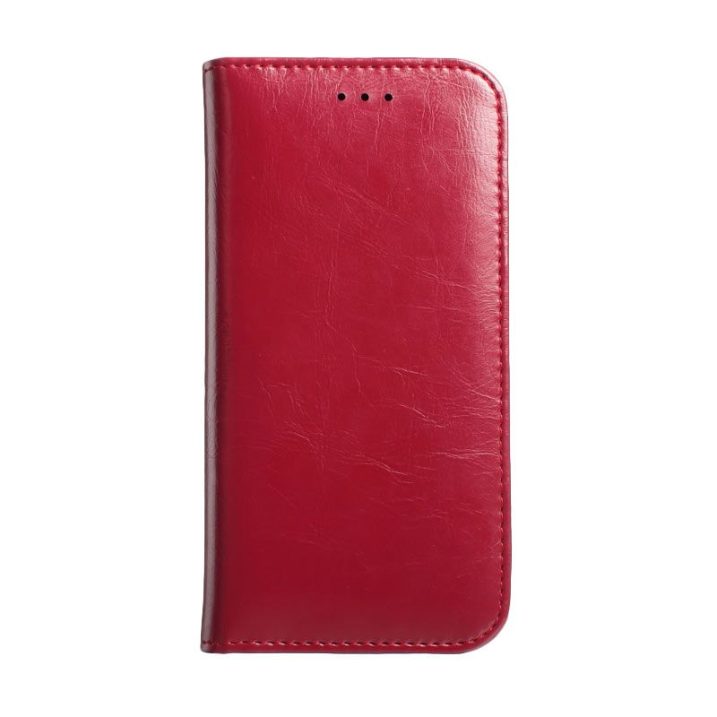 Kalaideng Royal Series Leather Merah Gelap Casing for HTC ONE M8