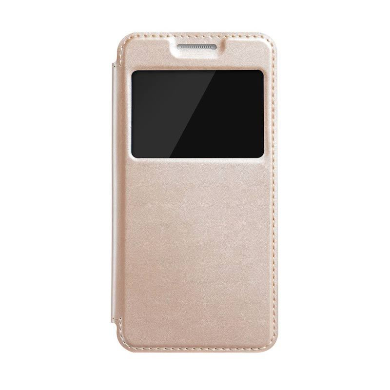 Kalaideng Sun Series Leather Flip Case Gold Casing for Samsung Galaxy A3