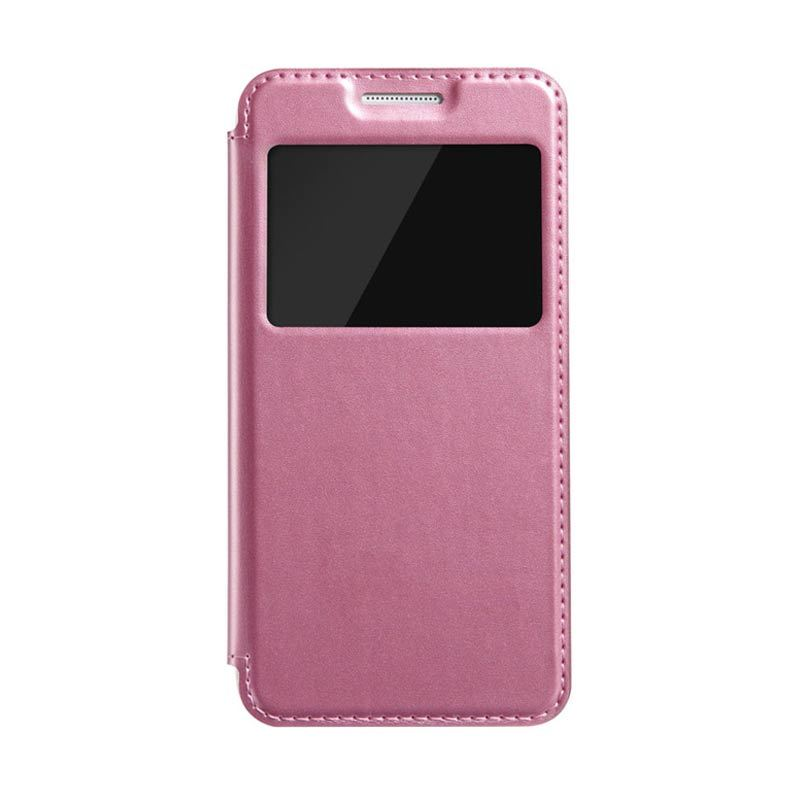 Kalaideng Sun Series Leather Flip Case Pink Casing for Samsung Galaxy A3