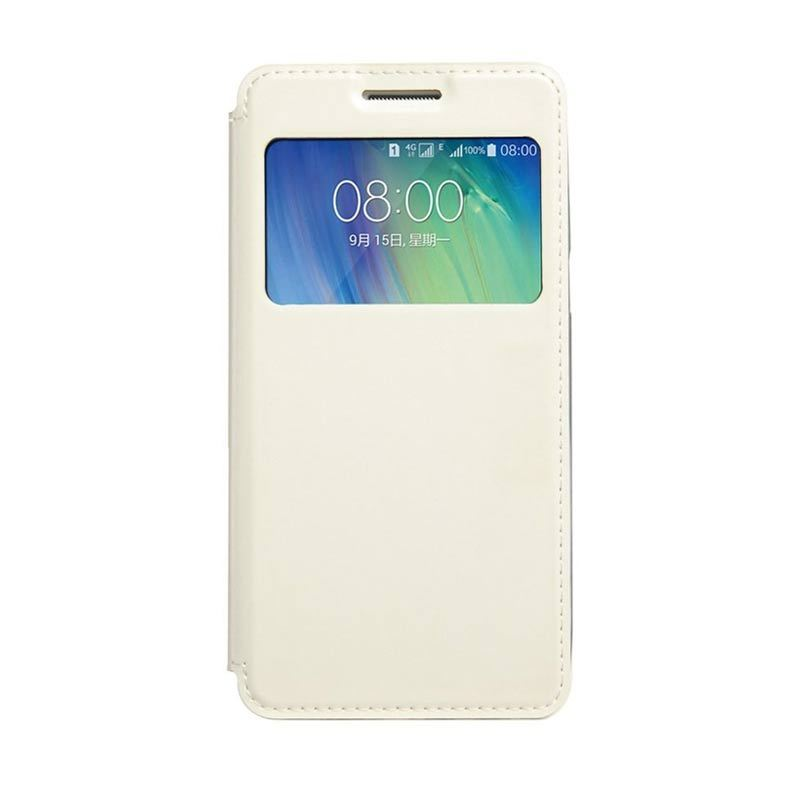 Kalaideng Sun Series Leather Flip Case Putih Casing for Samsung Galaxy A5