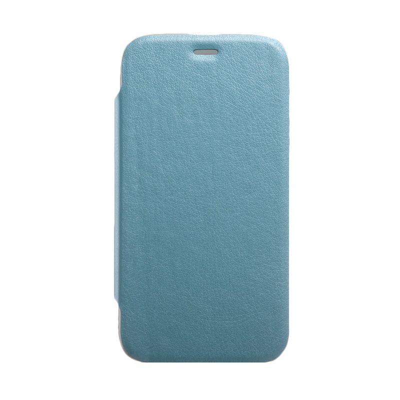 Kalaideng Swift Series Leather Biru Casing for Motorola G