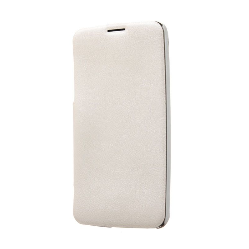 Kalaideng Swift Series Cream Leather Putih Casing for LG G Flex D958