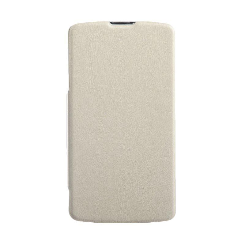 Kalaideng Swift Series Leather Cream Putih Casing for LG G PRO 2
