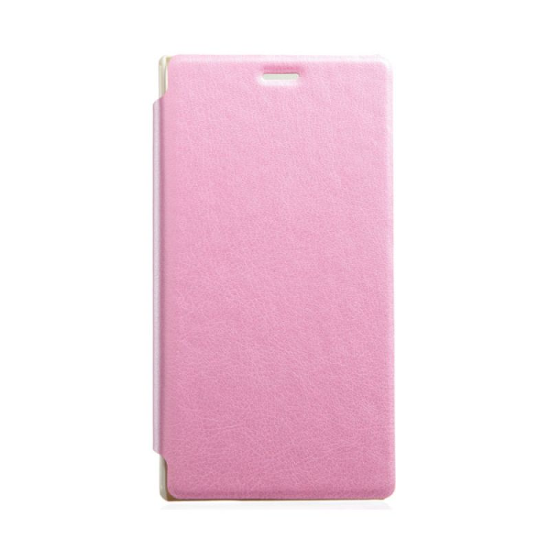 Kalaideng Swift Series Leather Pink Casing for Sony Xperia M2
