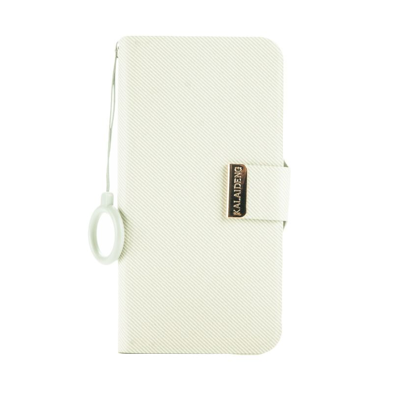 Kalaideng Unique Series Leather Cream Casing for HTC One M7