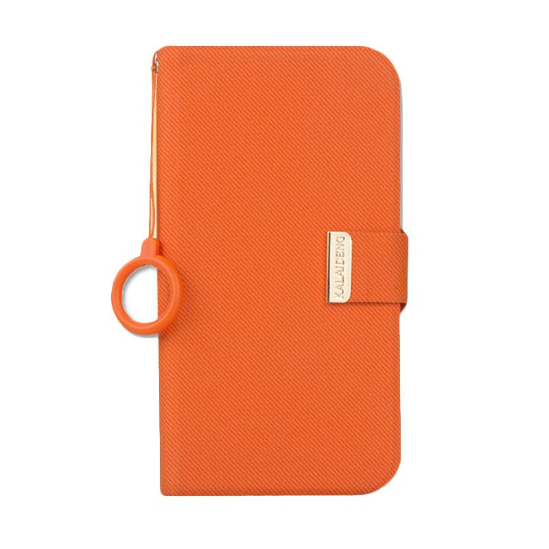 Kalaideng Unique Series Leather Orange Casing for HTC One M7