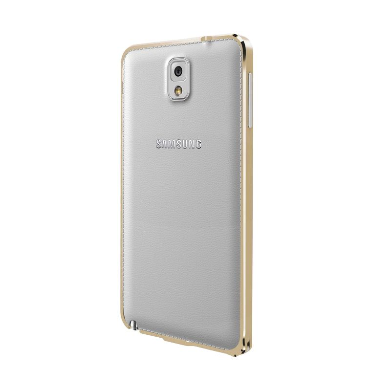 Love Mei Metal Bumper Gold Casing for Samsung Galaxy Note 3