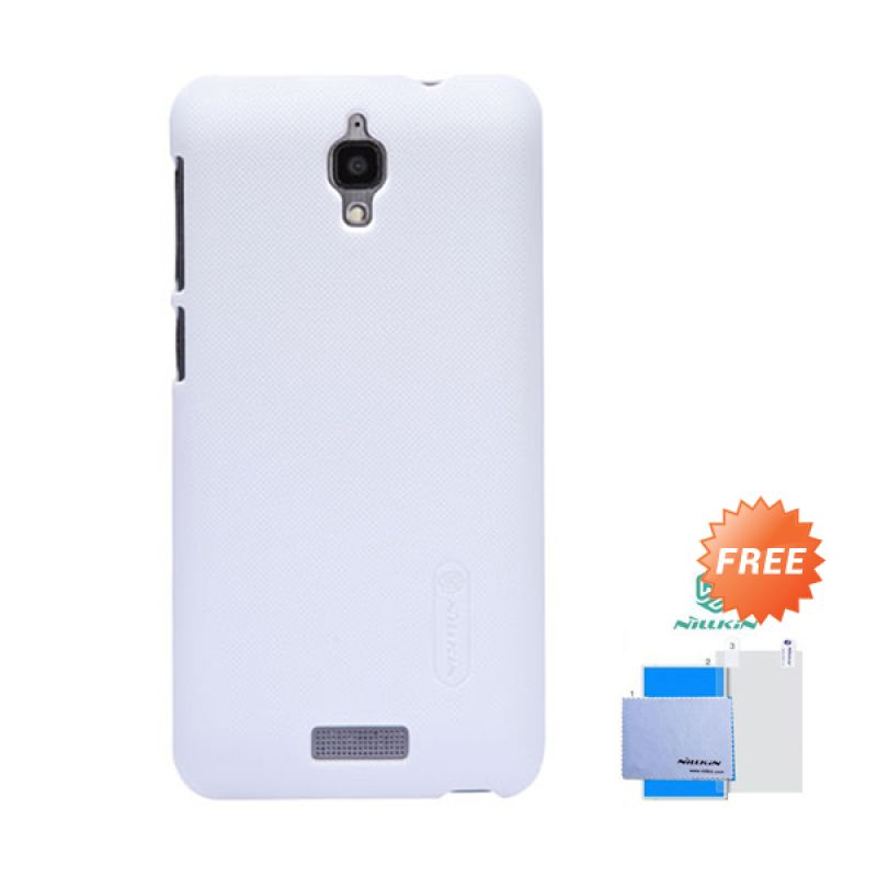Nillkin Frosted Shield Putih Hardcase Casing for Lenovo S660 + Screen Guard