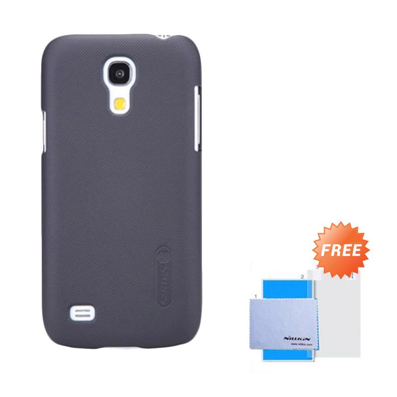 Nillkin Frosted Shield Black Hardcase Casing for Samsung Galaxy S4 + Screen Guard