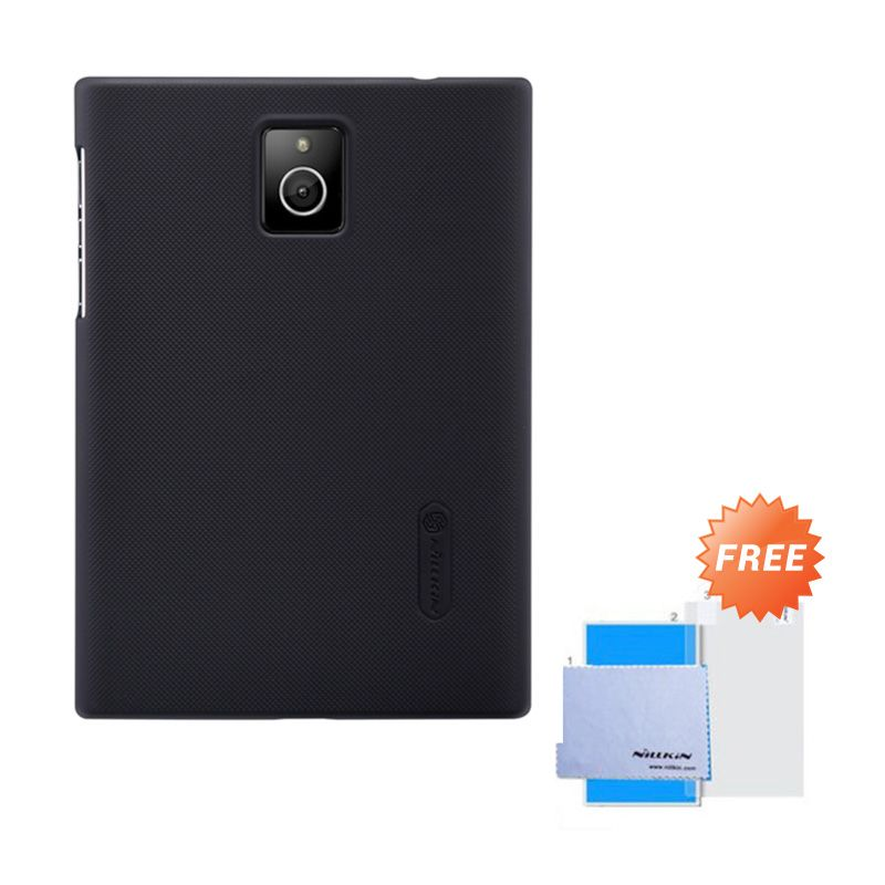 Nillkin Frosted Shield Hitam Hardcase Casing for Blackberry Passport + Screen Guard