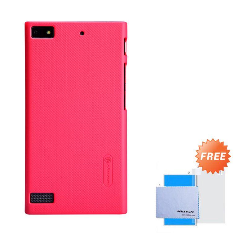 Nillkin Frosted Shield Merah Hardcase Casing for Blackberry Z3 + Screen Guard