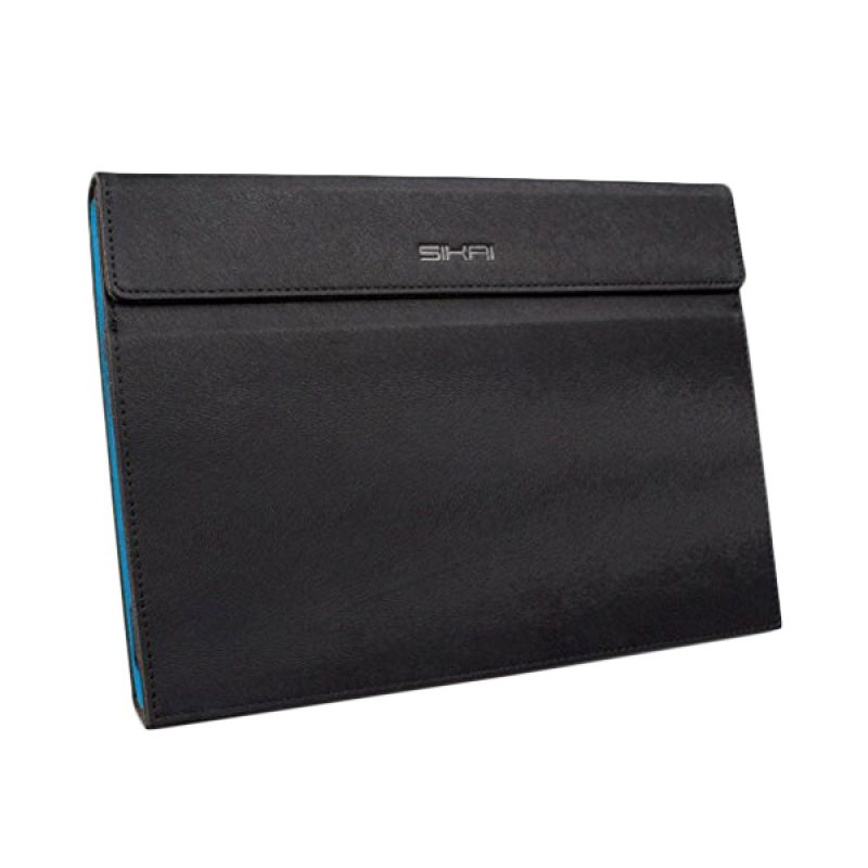 Sikai Leather Hitam Flipcase Casing for Microsoft Surface Pro 3 12 inch