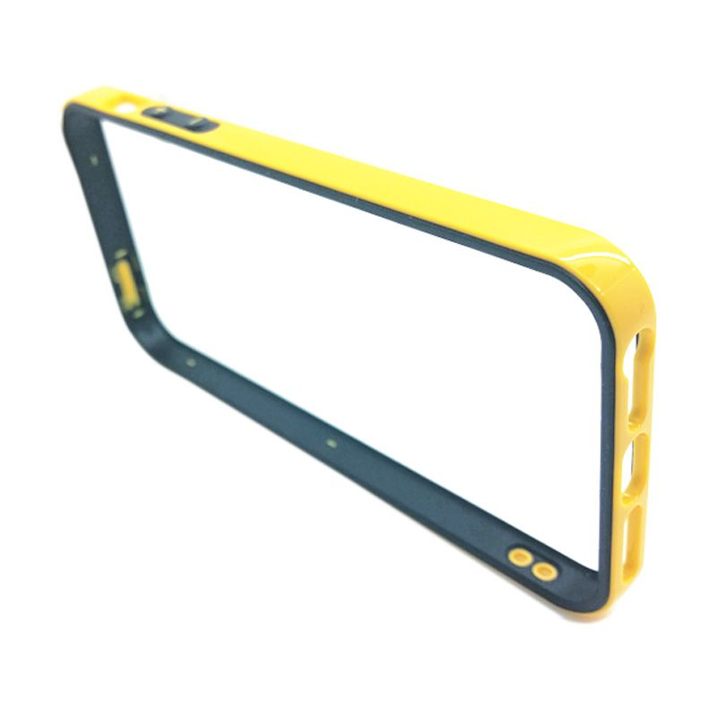 ST Helens Soft Bumper Case Kuning Casing for iPhone 5 or 5S