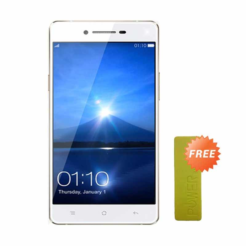 OPPO A37 Smartphone - Gold [ 2 GB/16 GB/4G] + Free