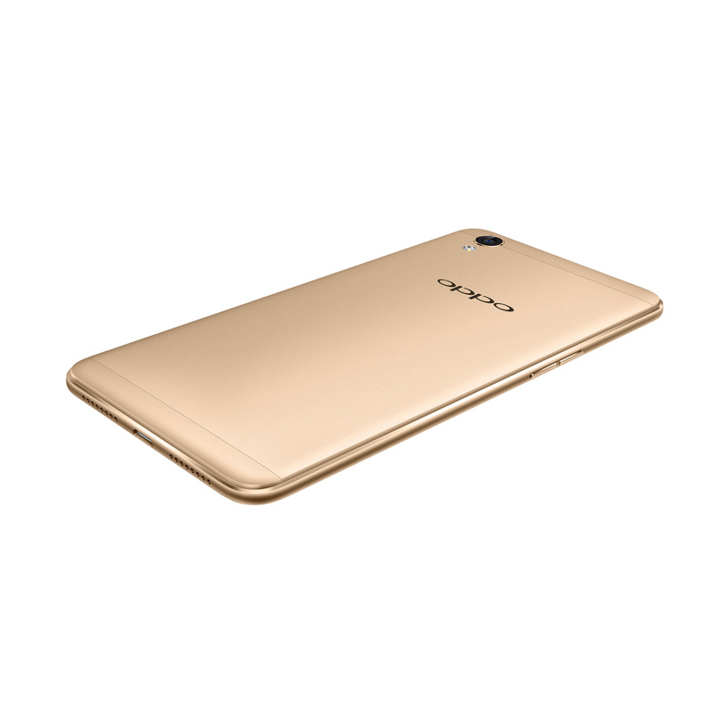 harga Oppo A37 Smartphone - Gold [16GB/ 2GB] + Free Tempered Glass + Softcase+Speaker Bluetooth Mini Blibli.com