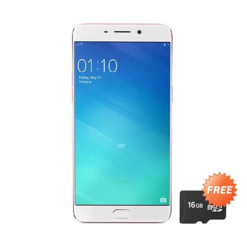 OPPO F1 Plus Smartphone - Gold [64 GB] - Free MicroSD 16 GB