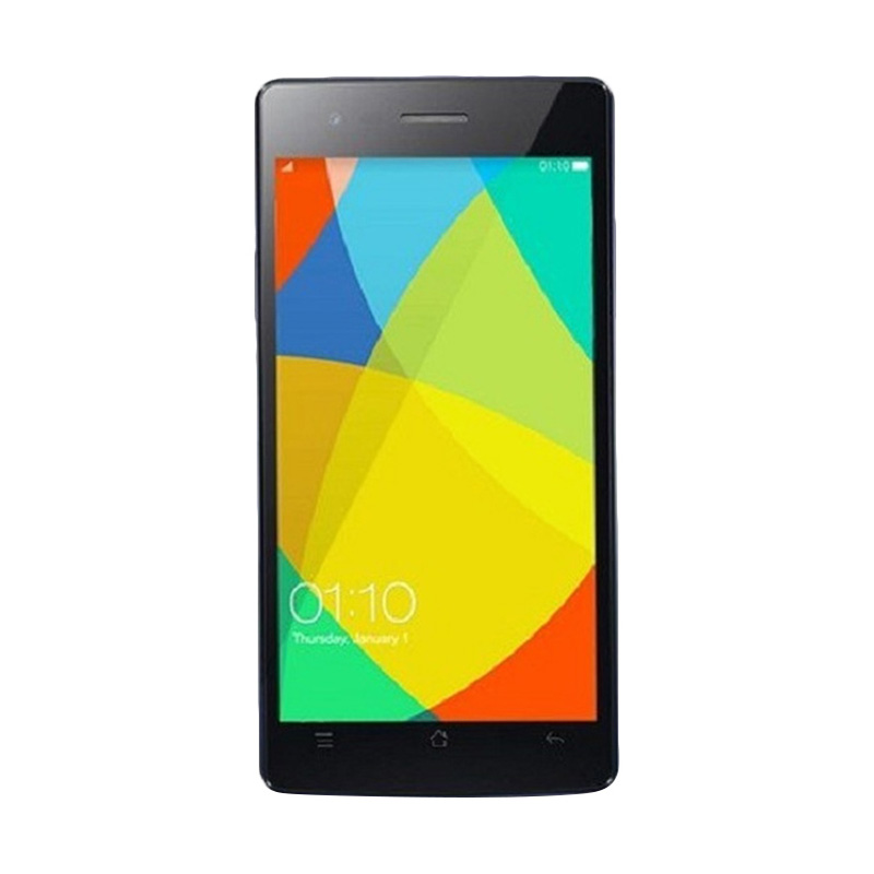 harga Oppo Neo 5S Smartphone - Black [16 GB] + Free microSD 16 GB + Tongsis Blibli.com