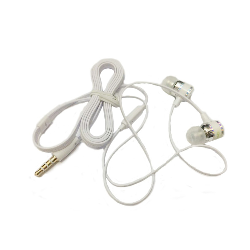 OPPO Original Handsfree Headset - Putih