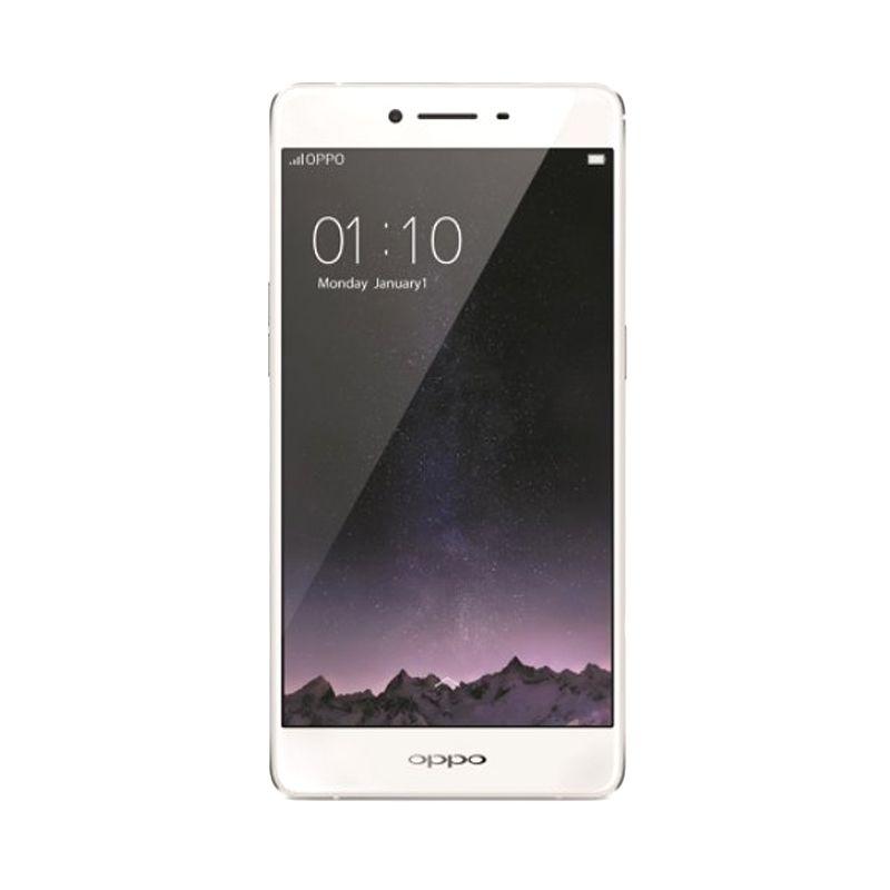harga Oppo R7S Smartphone - Gold [32GB/ 4GB] Blibli.com