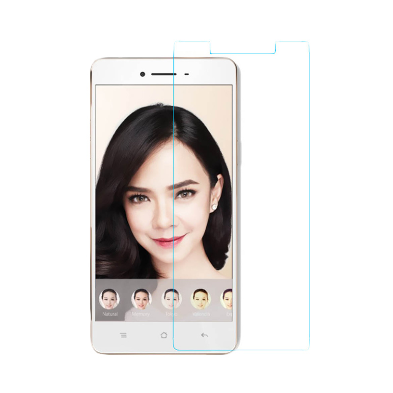 OPPO Tempered Glass Screen Protector for Oppo F1 Plus - Transparant