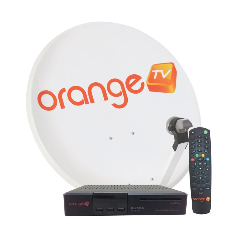 ORANGE TV Perangkat KU Band All Channel 12 Bulan
