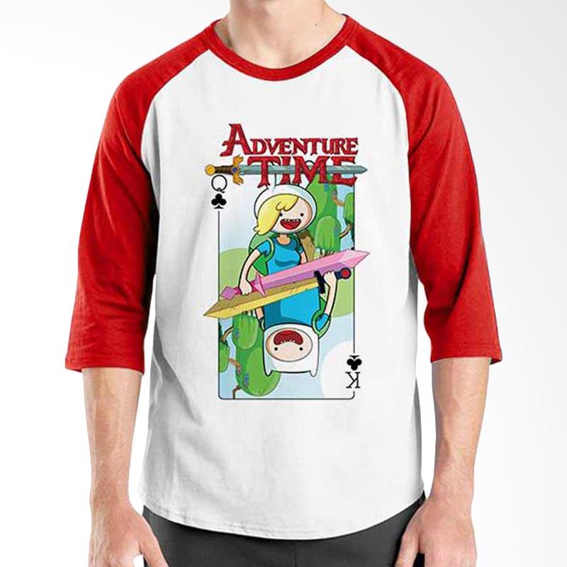 Ordinal Adventure Time Card Raglan