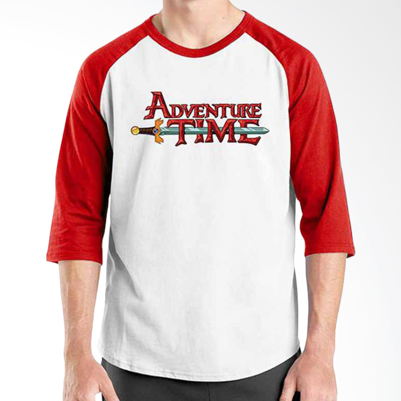 Ordinal Adventure Time Logo Raglan