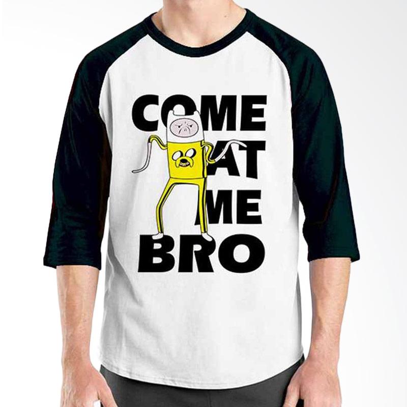 Ordinal Adventure Time Series Come at Me Bro Raglan