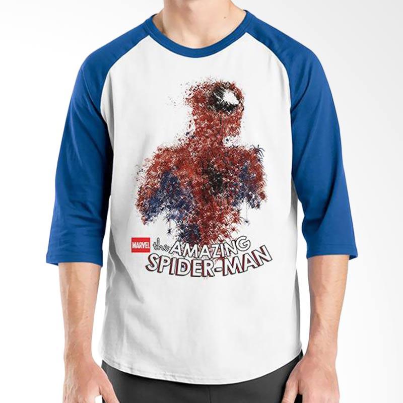 Ordinal Amazing Spiderman 10 Blue White Raglan Extra diskon 7% setiap hari Extra diskon 5% setiap hari Citibank – lebih hemat 10%