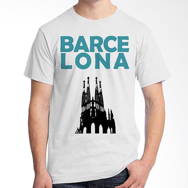 Ordinal Best City Edition Barcelona 01 Kaos Pria