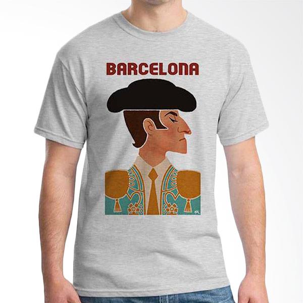 Ordinal Best City Edition Barcelona 02 Grey T-shirt