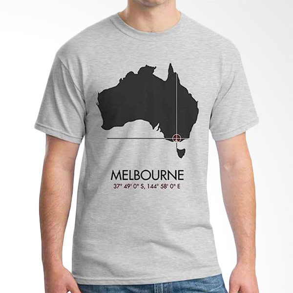 Ordinal Best City Edition Melbourne 03 Grey T-shirt