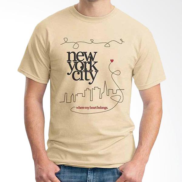 Ordinal Best City Edition New York 02 Beige T-shirt