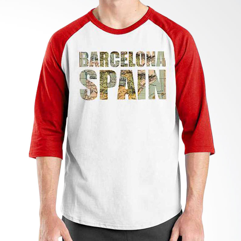 Ordinal Best City World Series Bacelona 04 Raglan