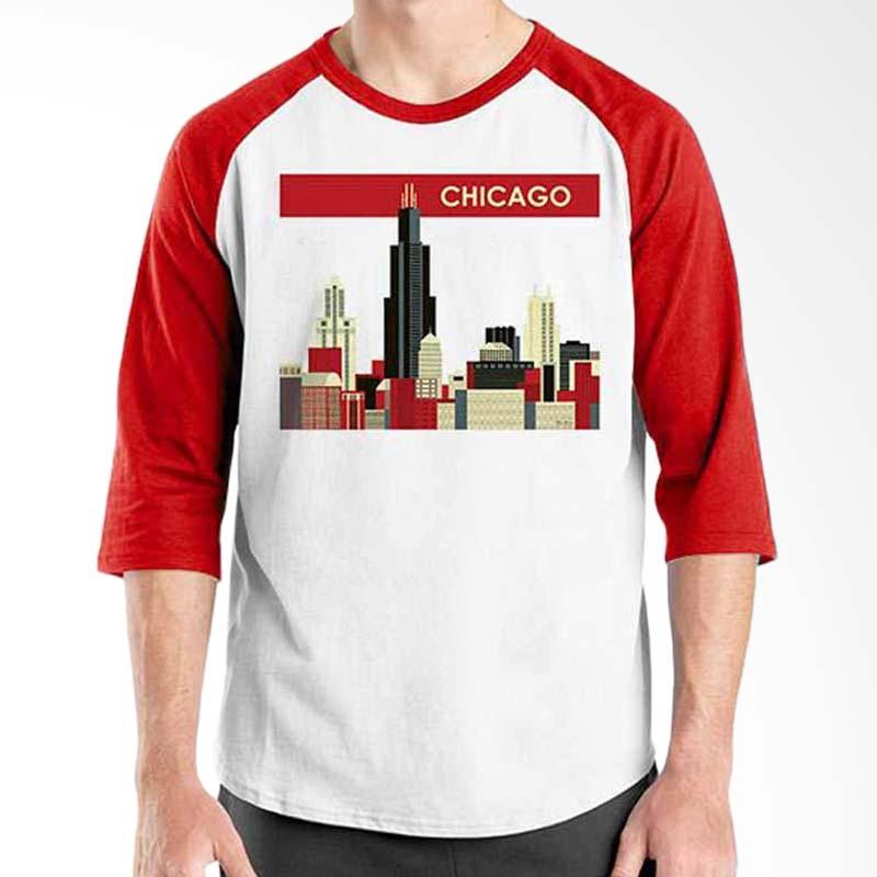 Ordinal Best City World Series Chicago 01 Raglan